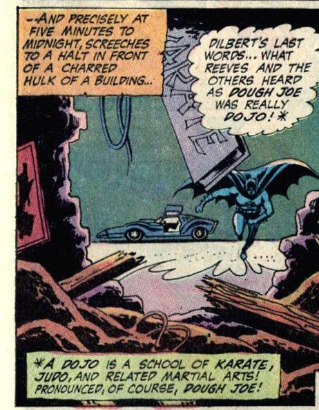 Detective Comics #399 part 3 judo