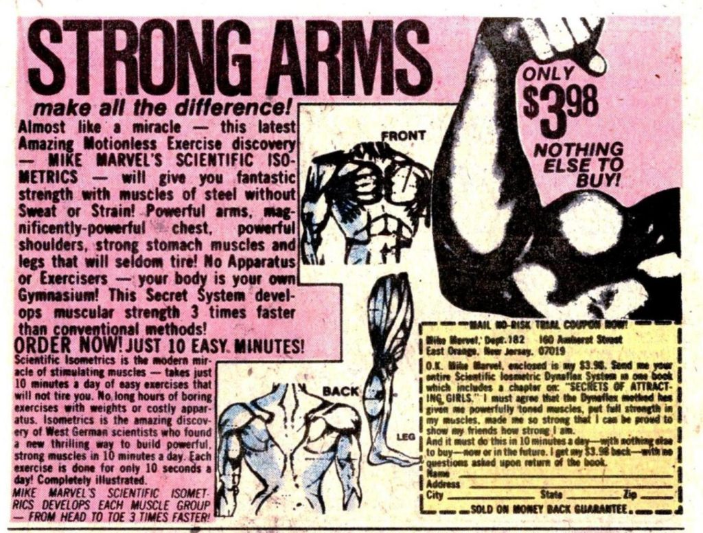ad eleven strong arms