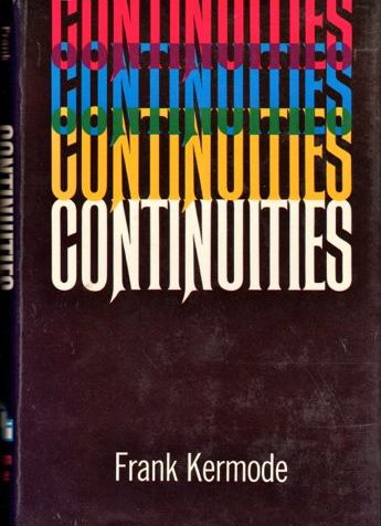 Frank Kermode's Continuities Book Cover