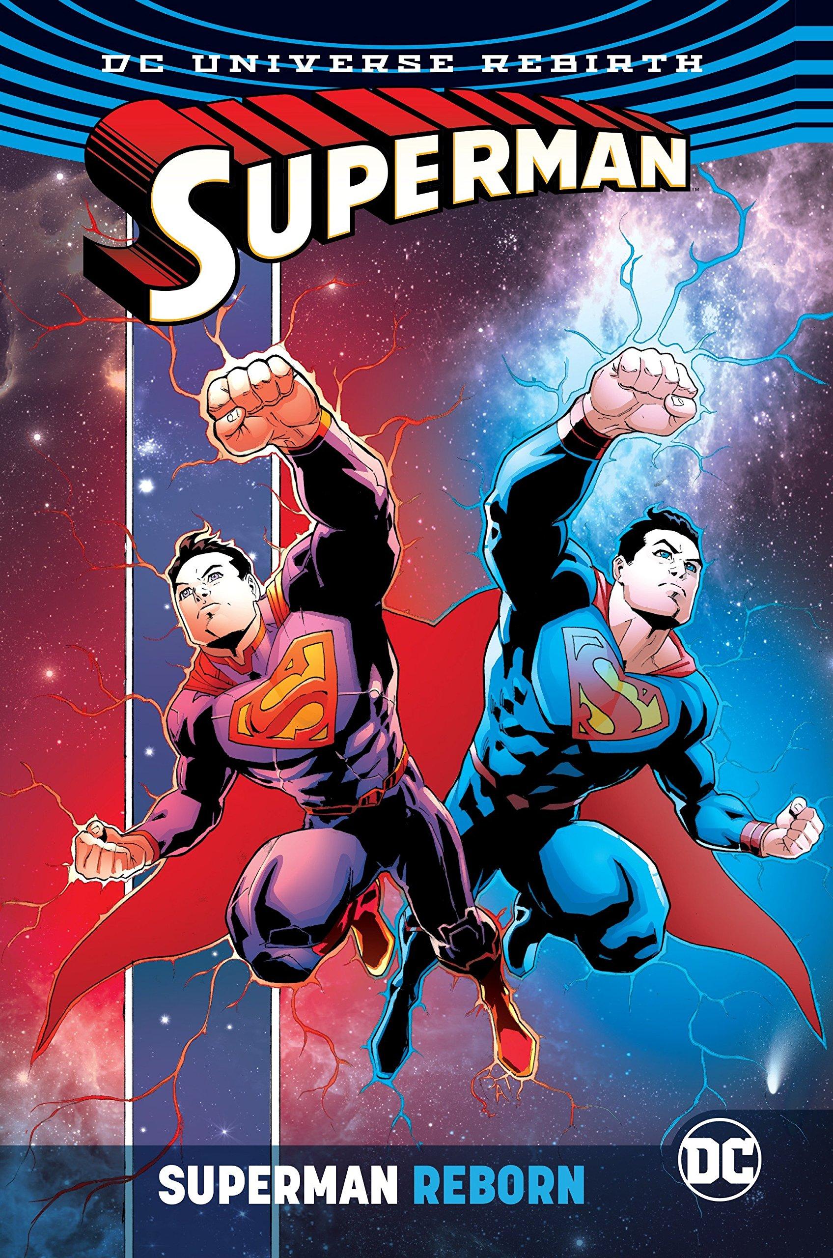 Superman Reborn Rebirth Jurgens