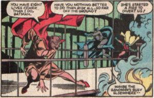 All Star Squadron Annual #3 (Batman saves Ronald Reagan)