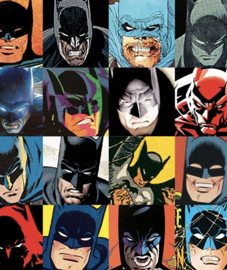 Batman Cover to Cover Image