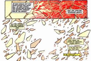 Crisis on Infinite Earths #10 Final Panels