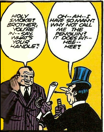 Detective Comics #58 Penguin debuts
