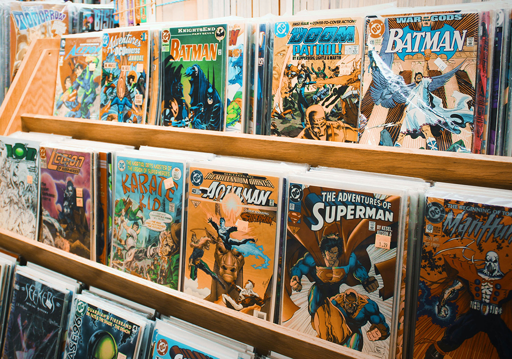 Photo of Comic Book Rack by Lena Rose