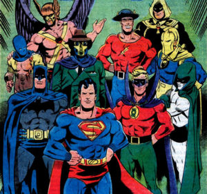 DC Special #29: JSA Forms
