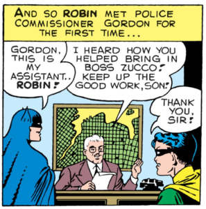 Batman #32 Part 2 Robin meets Gordon