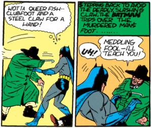Batman #2 Part 3 Clubfoot debuts