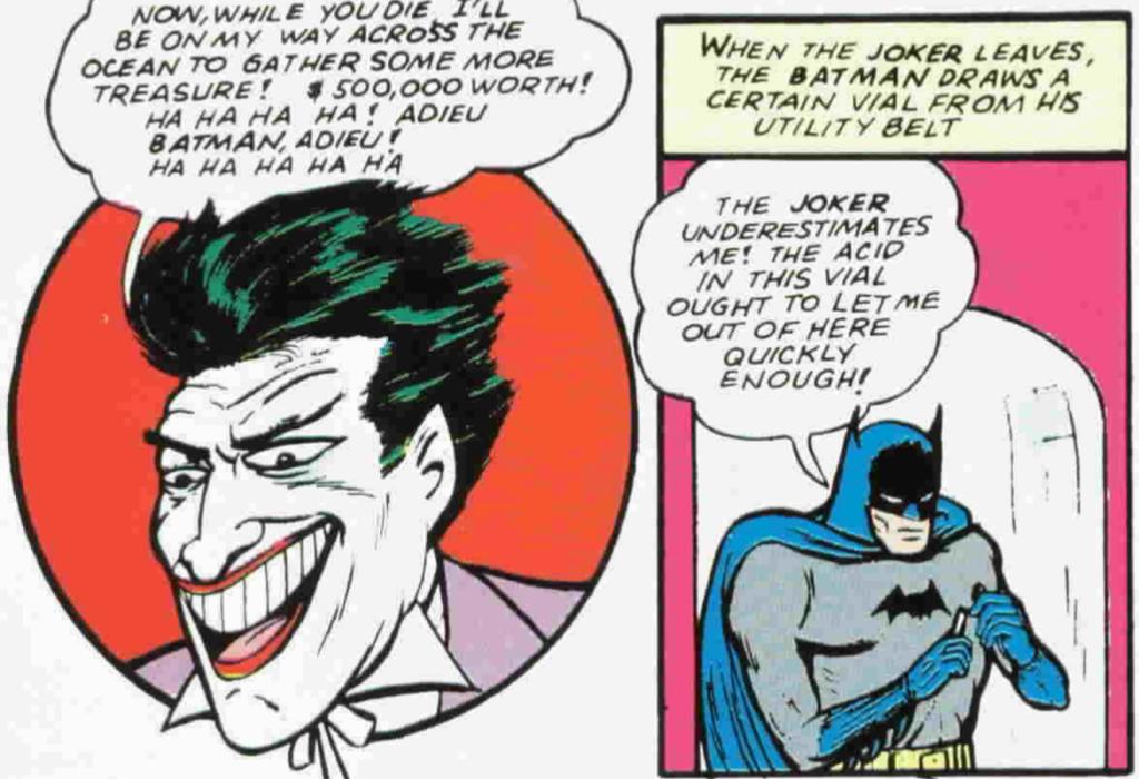 Detective Comics #45 Rekoj