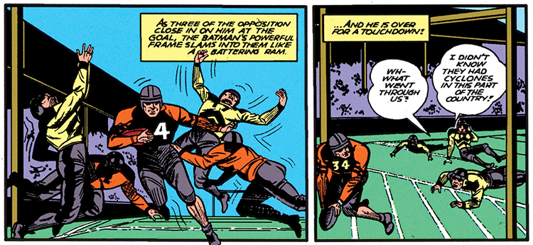 Batman #4 Part 4 Football