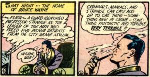 Batman # 1 Part 2 Hugo Strange Escapes