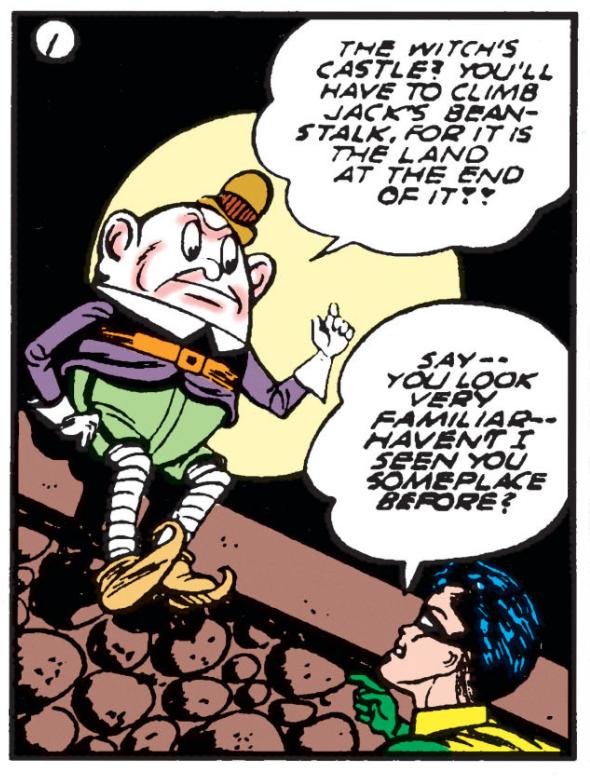 Batman #5 Part 2 Fairy Tale Dimensions