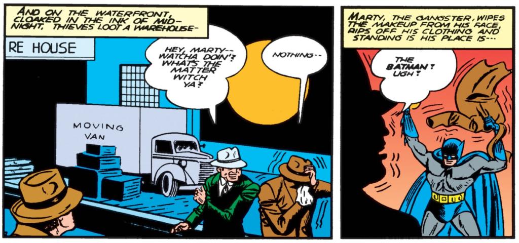 Batman #6 Part 1 Marty the Gangster