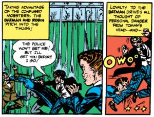 Batman #10 Part 2 Tommy Chomps for Batman