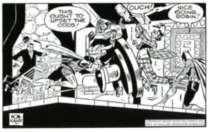 Batman & Robin News Strip Dailies Ch. 5 1944