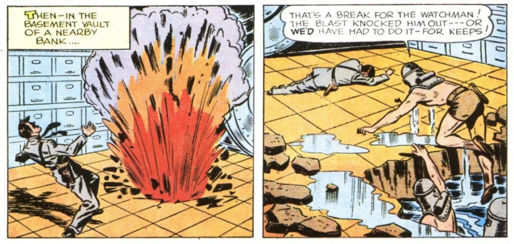 Batman and Robin Sunday News Strip Ch. 7 (1944)