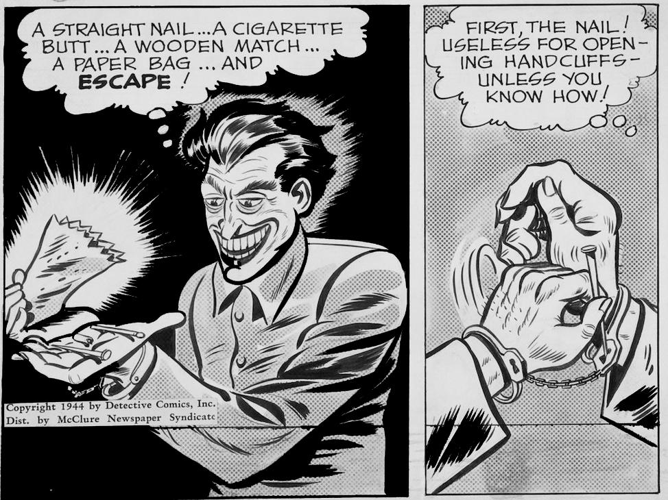 News Strip 1944 Dailies Ch. 3