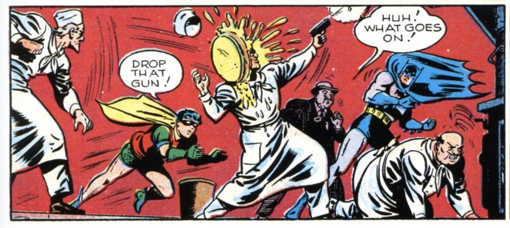 Batman and Robin Sunday News Strip Ch. 22