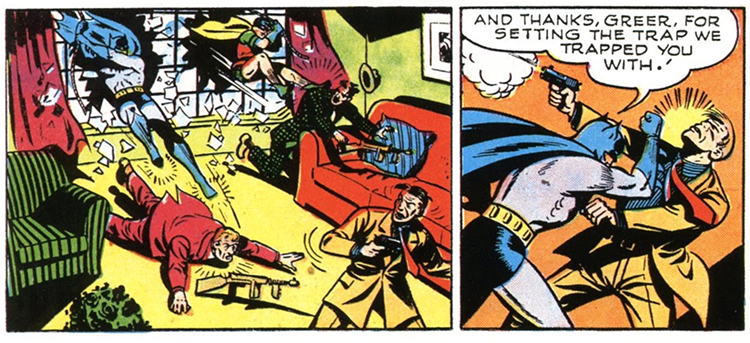 Batman & Robin Sunday News Strip Ch. 26