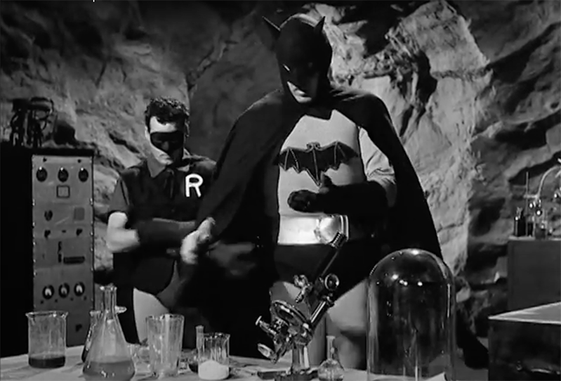 Batman and Robin Film Serial 1949 (Chapter 1)