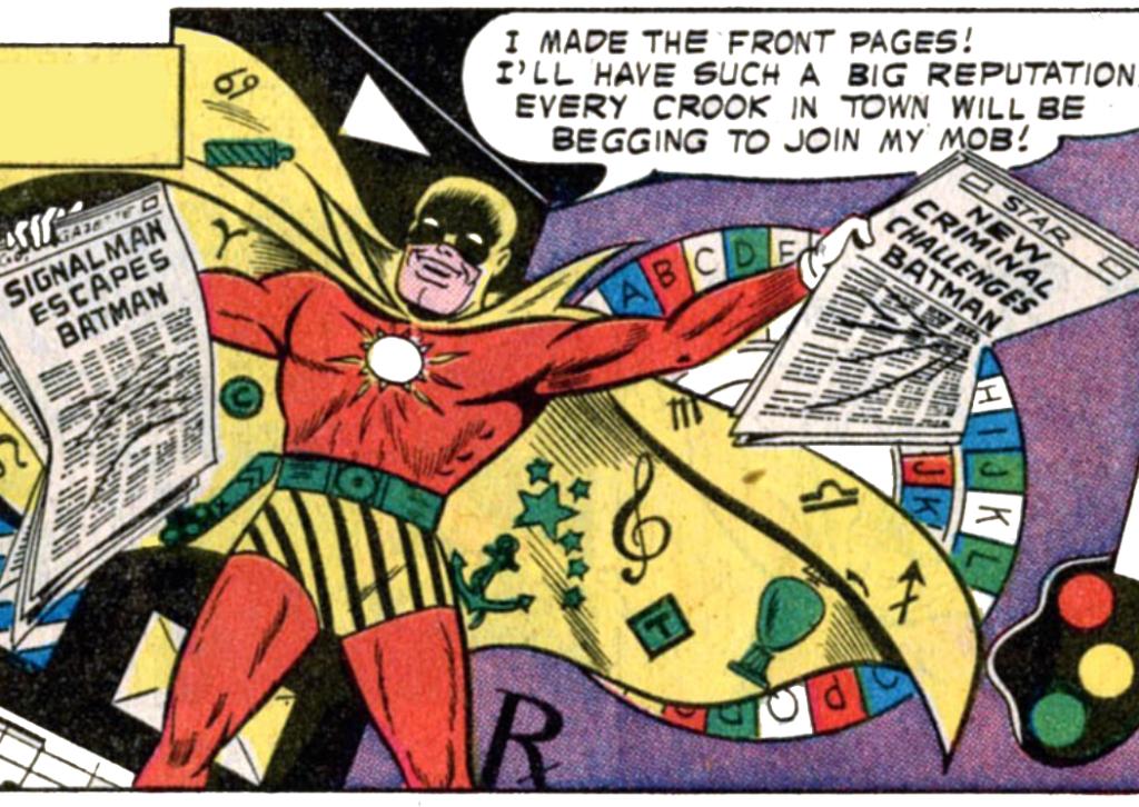 Batman #112 Part 1 - Signalman Debuts