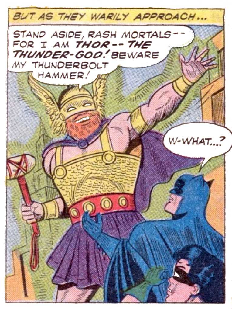 Batman #127 Part 3 THE MIGHTY THOR!