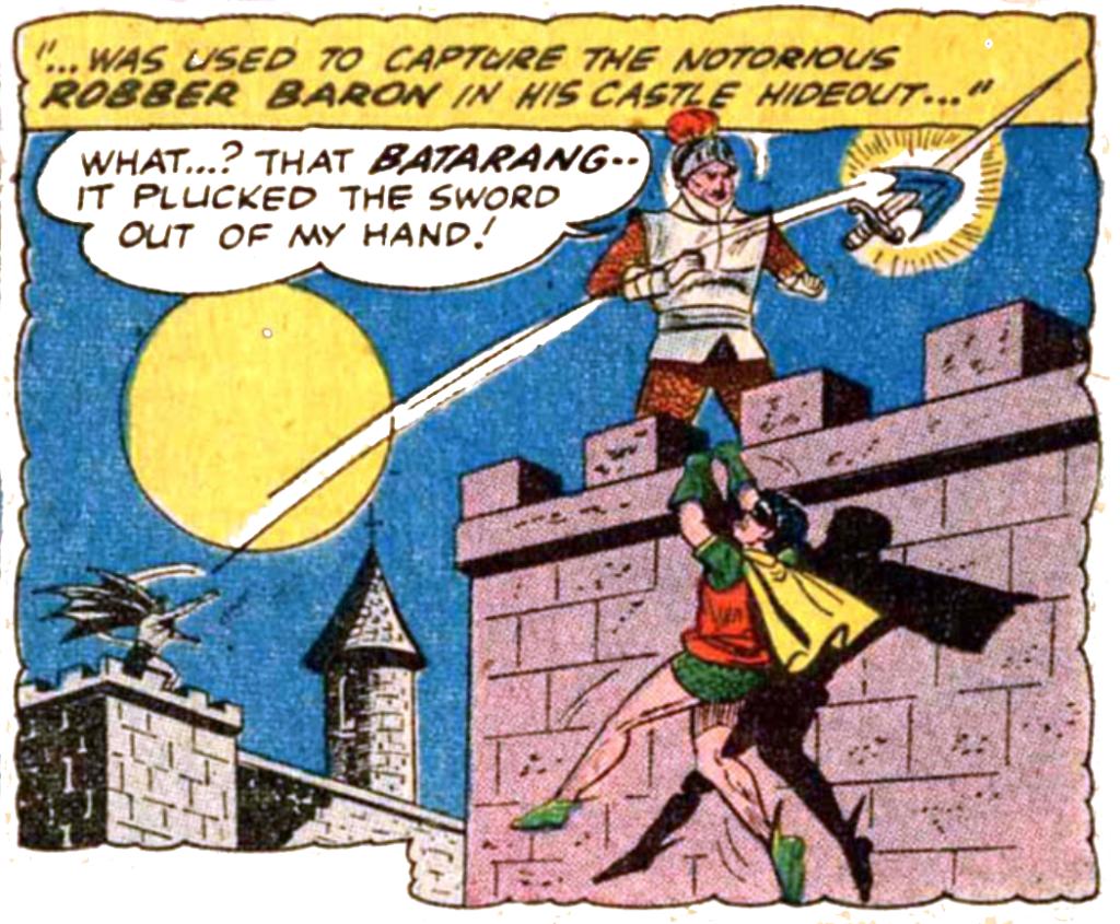 Batman #133 FB Robber Baron