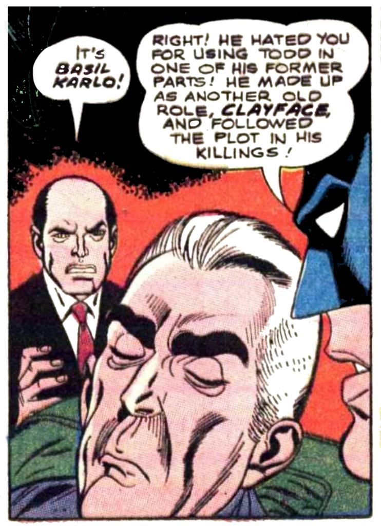 Batman #208 Basil Karlo