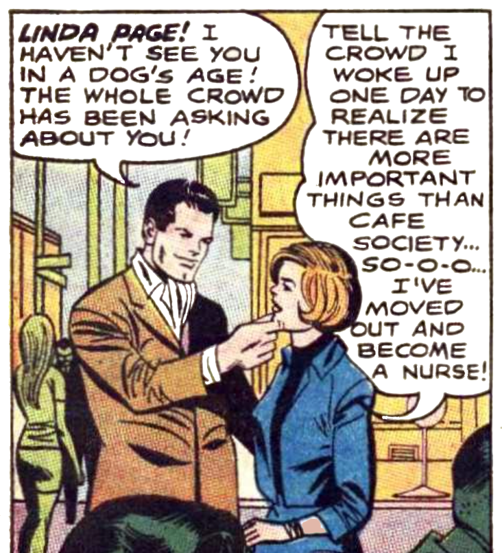 Batman #208 Linda Page