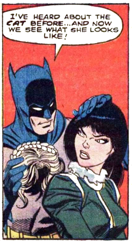 Batman #208 THE CAT