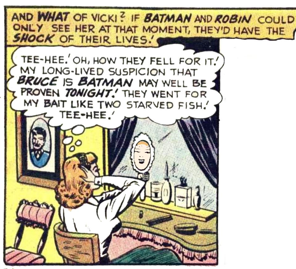 Batman #208 VICKI VALE