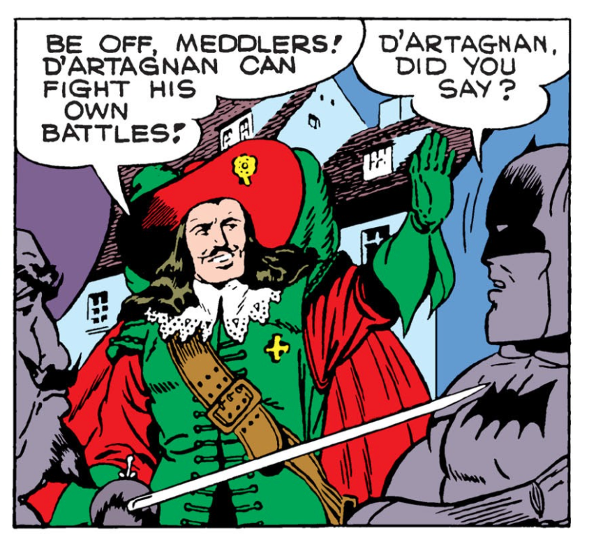 Batman #32 Part 4 Three Musketeers