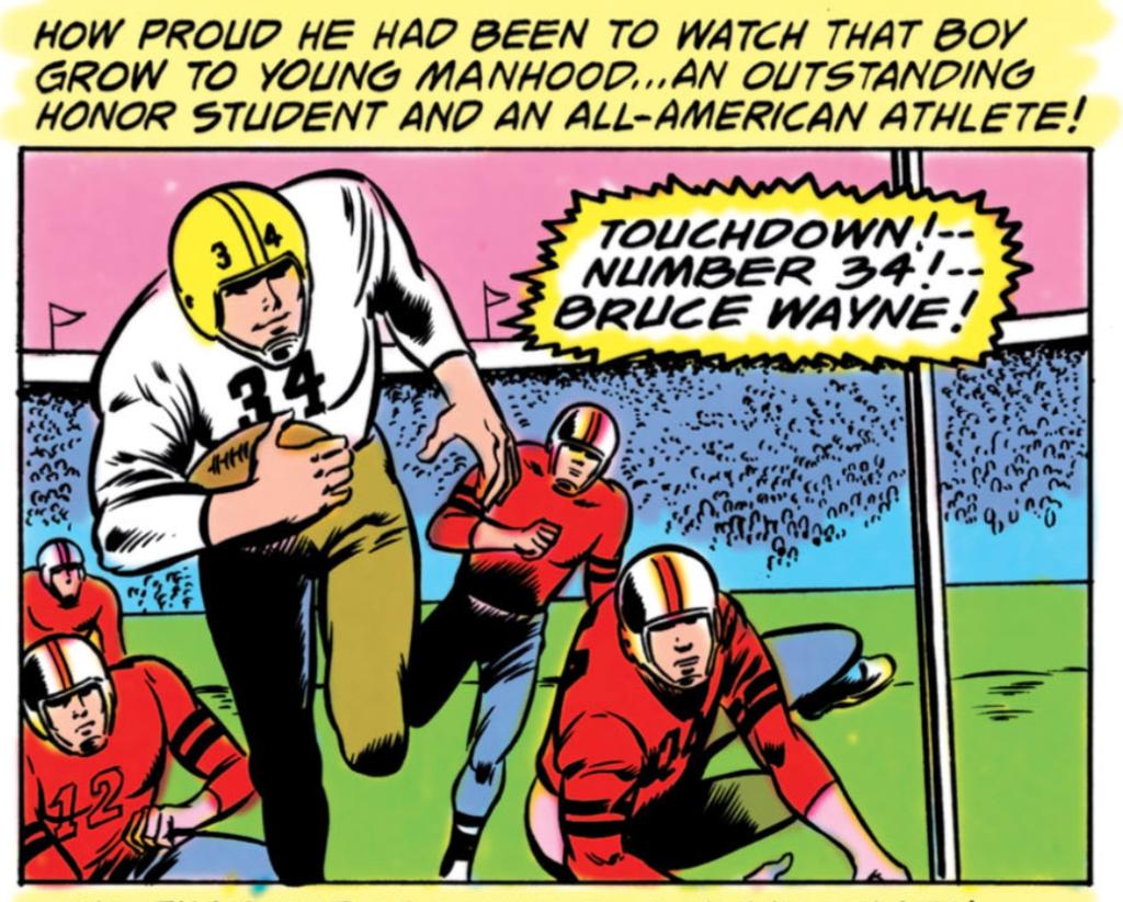 Batman #304 Part 2 Football
