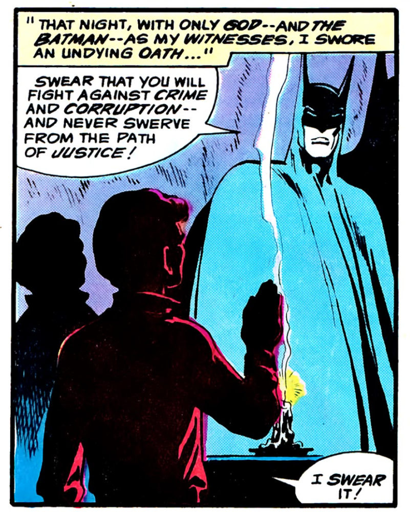 The Untold Legend of the Batman #2 by by Len Wein, Jim Aparo, & Glynis Oliver (1980) oath