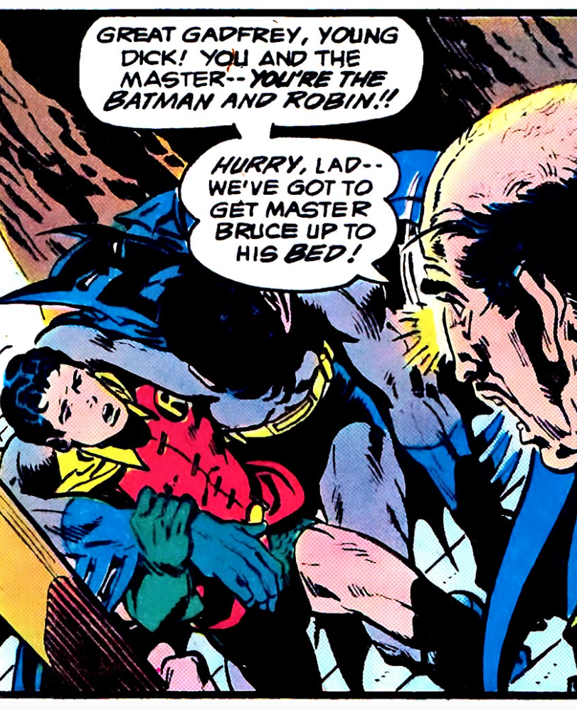 Untold Alfred discovers the secret
