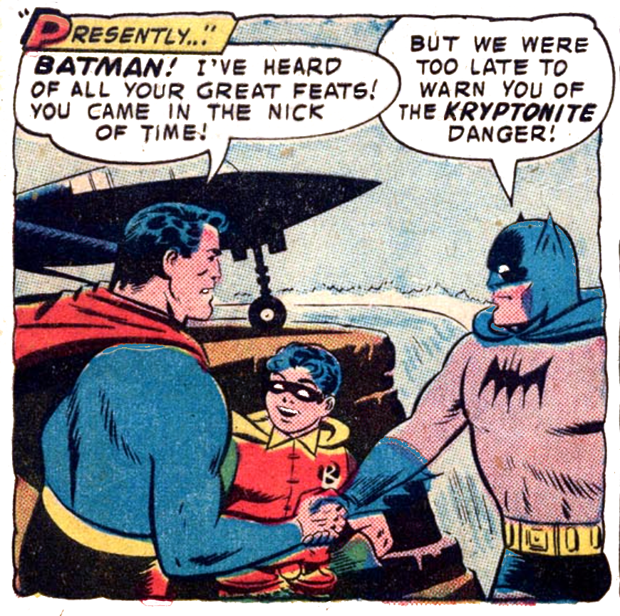 WFC 94 Dynamic Duo meets Superman