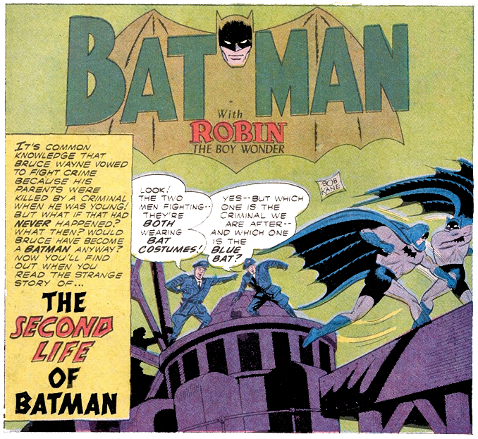 Batman #127 Part 2 by Bill Finger, Dick Sprang, & Charles Paris (1959)