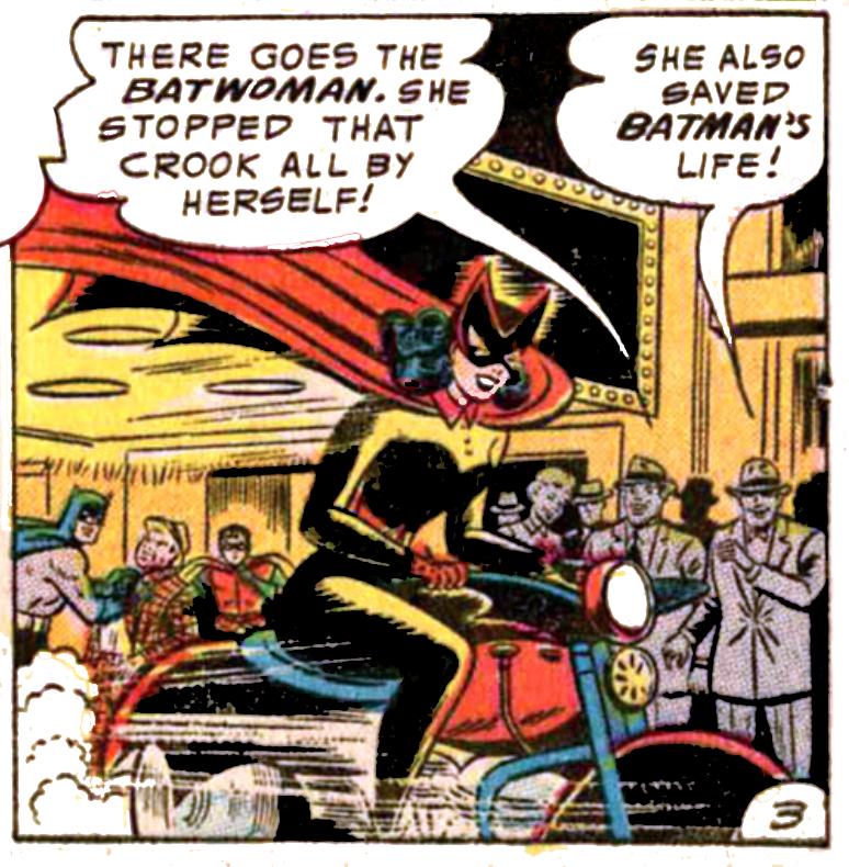 tec 233 Batwoman Kathy Kane Debuts
