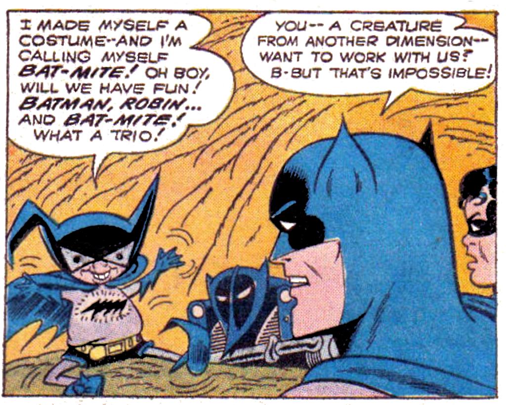 tec 267 Bat-Mite debuts
