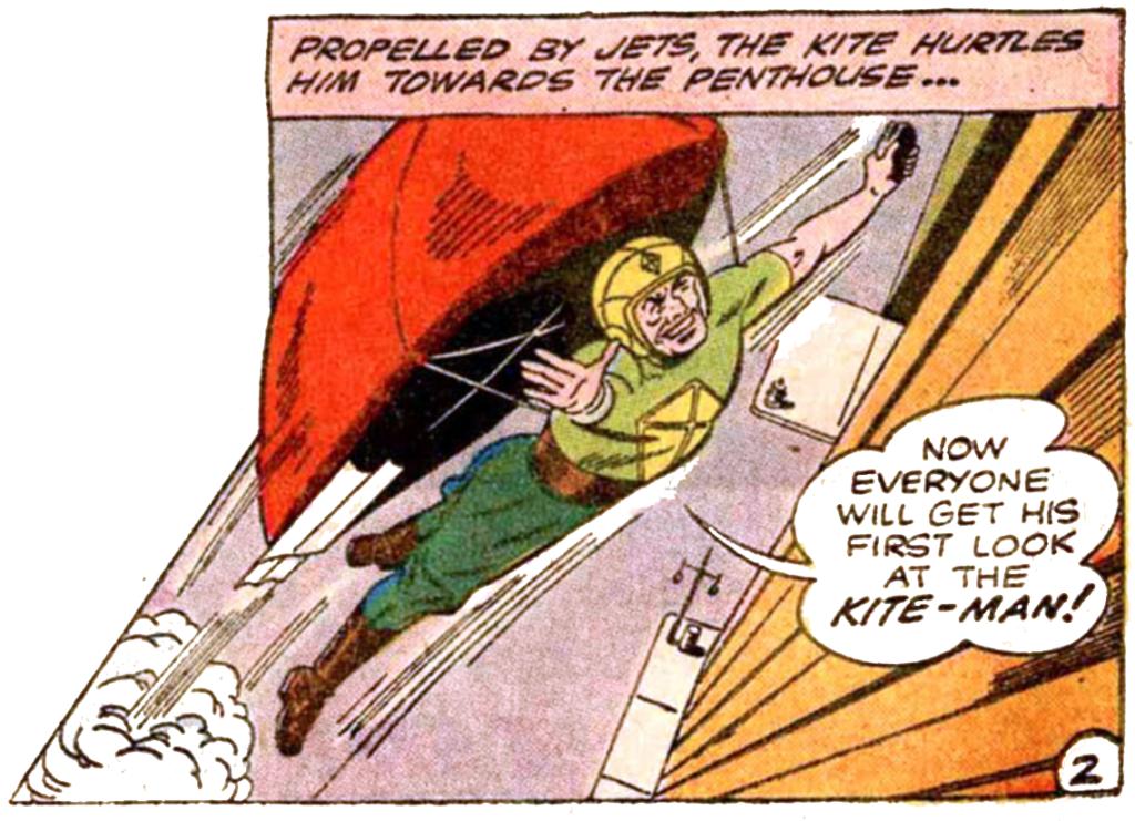 Batman #133 Kite-Man Hell Yeah