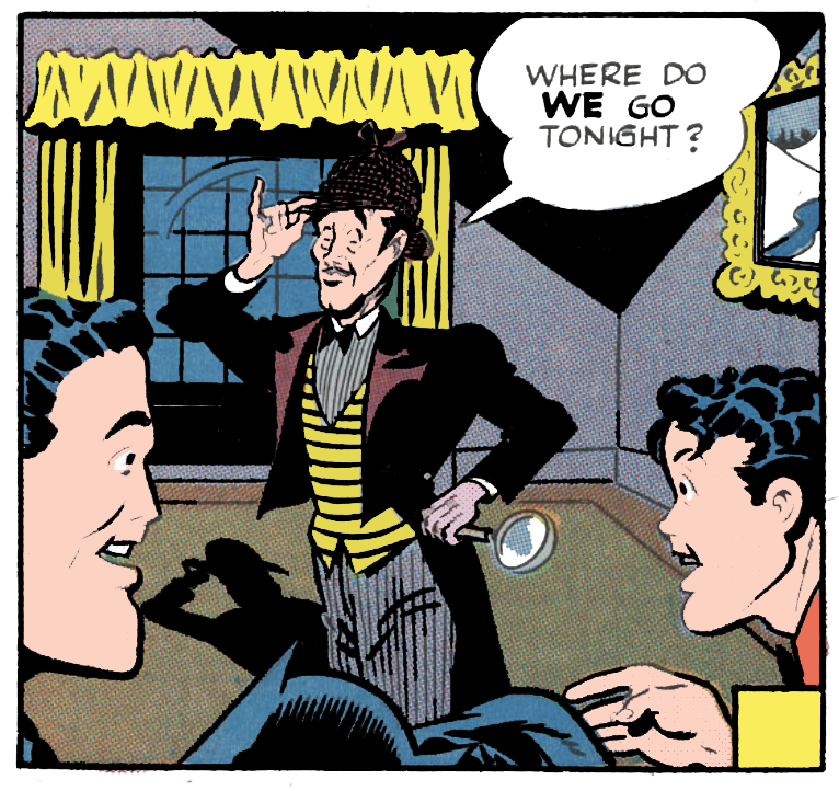 Detective Comics #96 by Don Cameron & Dick Sprang (1945) UPDATE