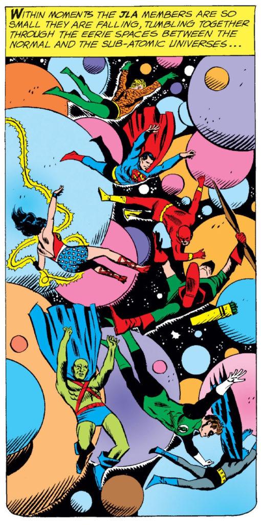 JLA #18 microverse