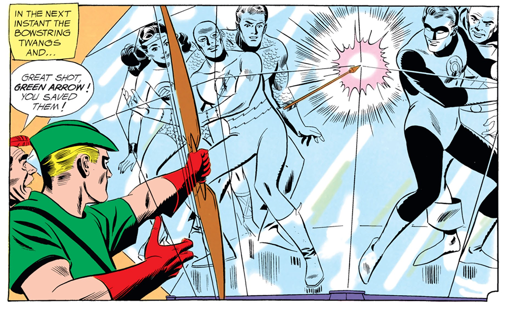 JLA #4 Green Arrow