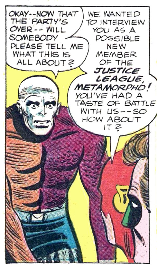 JLA #42 Metamorpho