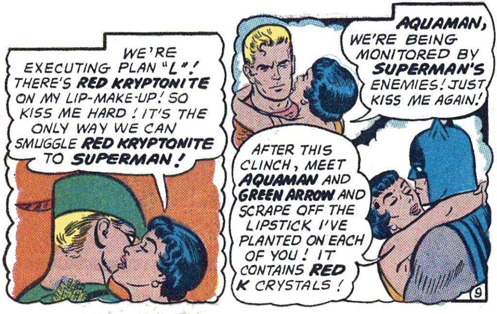 Lois Lane #29 Part 3 kissy kissy