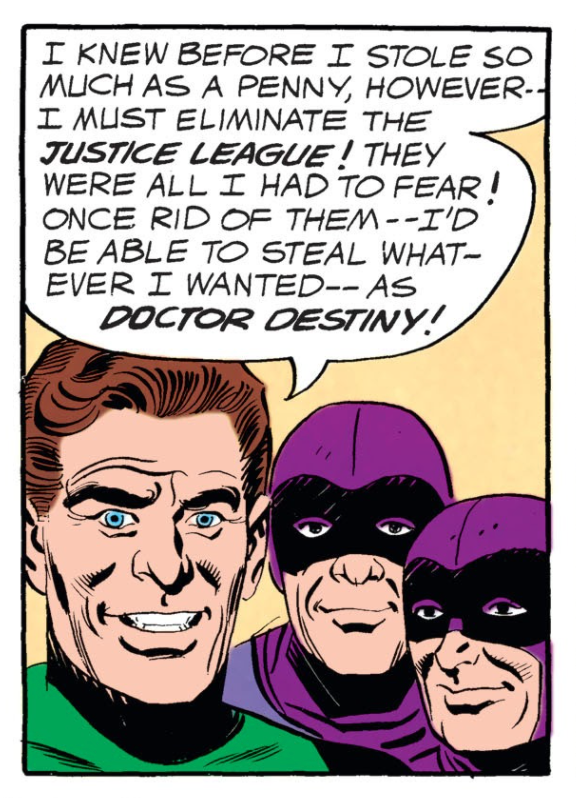 JLA 5 Dr. Destiny