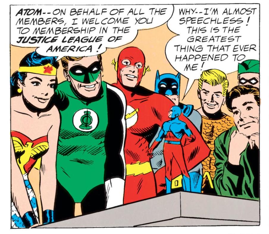 JLA #14 The Atom