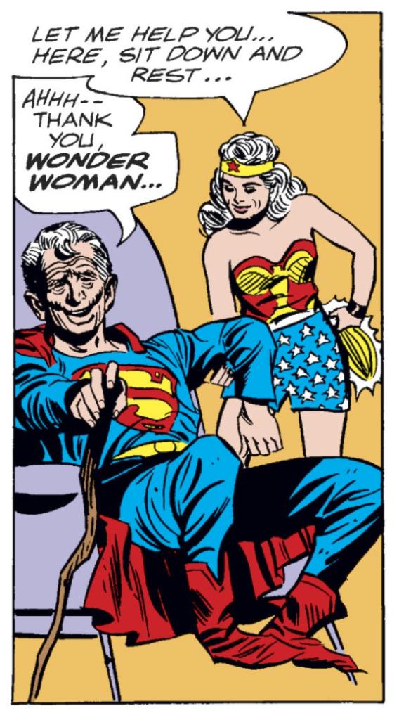 JLA 26 old superman