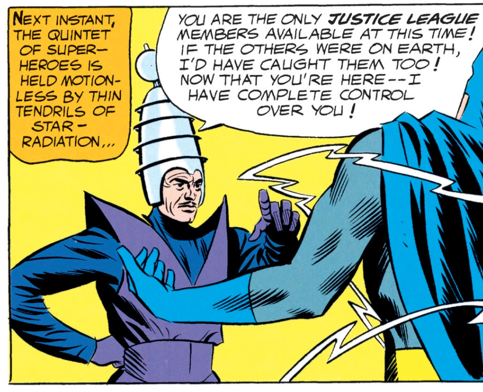 JLA #32 Brain & Fred, The Storms