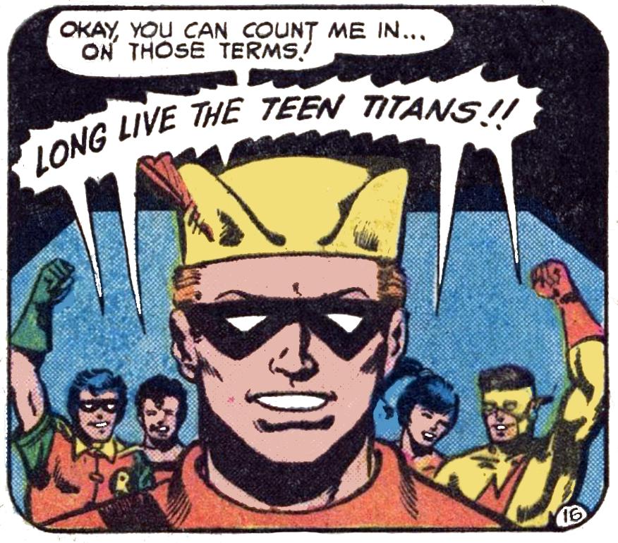 Teen Titans #53 FB